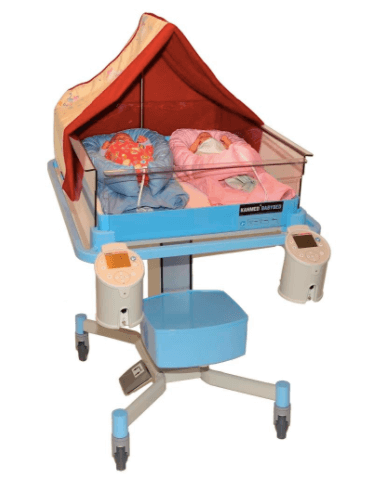 Kanmed Twin Baby Bed