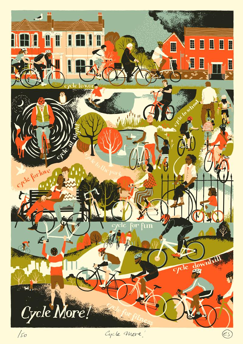Eliza Southwood Art Print for sale
