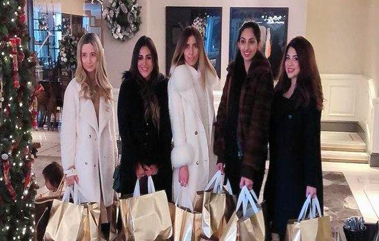 Mums of Mayfair donate Xmas Gift Bags