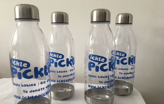 Ickle Pickles Water Bottles