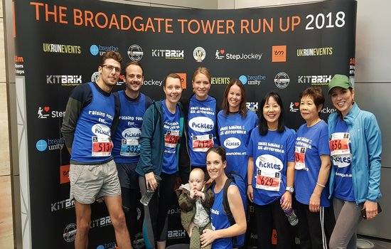 Broadgate Tower Run
