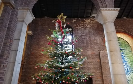 Christmas Tree Festival at St Cuthbert's with St Aidan's