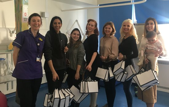 Mums of Mayfair donate Mother's Day Goodie Bags